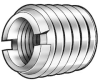 Thread Insert,Stl,4-40,1/4 L,Pk 10 -- 4ZY16