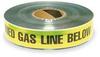 Detctbl Underground Tape,Yllw/Blk,1000ft -- 1N964