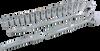 20 Pieces 6 Point Standard SAE Socket Set -- 38020