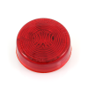 """2"""" Sealed Round LED Clearance/Marker Light 47762, Red Lens -- 47762 -- View Larger Image"""