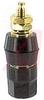 Binding Post; Standard Hex Head; 30 A; 1000 VAC; Brass per ASTM-B16; Nylon; Hex -- 70183135
