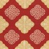 Batik Medallion Fabric -- R-Shari - Image