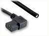 BLUNT CUT to IEC-60320-C13 RIGHT ANGLE HOME • Power Cords • IEC/Jumper Power Cords • Domestic -- 0129.079HS - Image
