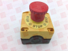 LEUZE ESB200-4TR-C ( E-STOP BUTTON, CONTACT ALLOCATION: 2NC + 1NO; CABLE ENTRY: 5 PIECE(S), M16 X 1.5; CONNECTION: TERMINAL, 6 -PIN; DIMENSION: 80 MM X 102.3 MM X 72 MM; HOUSING MATERIAL: PLASTIC, ...