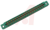 connector,comm card edge,double readout,solder eyelets,.156 spacing,18 position -- 70033097 - Image