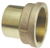 Lead-Free Cast DZR Brass Fittings - Adapter Ftg x F -- 703-2R-LF