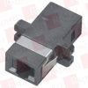BLACK BOX CORP FOT122 ( FIBER OPTIC COUPLING, MT-RJ–MT-RJ, RECTANGULAR MOUNTING WITH CAP, MULTIMODE, DUPLEX, BRONZE SLEEVE, PLASTIC FLANGE ) -Image