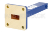 1 Watt Low Power Commercial Grade WR-51 Waveguide Load 15 GHz to 22 GHz, Bronze -- PEWTR1003 - Image