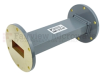 WR-137 Waveguide Section 6 Inch Length Straight Using UG-344/U Flange With a 5.85 GHz to 8.2 GHz Frequency Range in Commercial Grade -- SMF137S-06 - Image