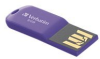 8GB STORE N GO 47428 FLASH DRIVE USB 2.0 MICRO VIO -- 47428