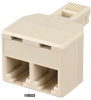 Modular Adapter RJ-11 4/6 Wire Straight-Pinned -- FM008 -- View Larger Image