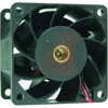 FAN;DC;VANEAXIAL;PLASTIC;12V;14W;99CFM;57DB;1.2A;6300RPM;2ball;lead;80X38MM -- 70103460 - Image