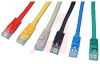 CABLE, MOLDED, CAT 5E WITH LOW PROFILE,5FT. YELLOW; Booted -- 70081023 - Image