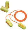 E-A-Rsoft Yellow Neon Blasts Disposable Foam Earplugs - corded > SIZE - Regular > NRR - 33 > UOM - 200 Pair/Box -- 311-1252