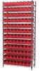Shelf Bin Wire Systems -- HAWS143630120-SCLAR -Image