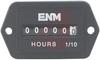 Hour Meter, Quartz, 2.12W x 1.25H, 10-80 VDC, DC, 6 digit -- 70000797