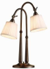 Two Light Bronze Desk Lamp -- 50047177(Kichler 70228BBZ)