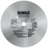 7-1/4 Hollow Ground Ply Bulk Saw Blade (Shrink band on teeth) -- DW3526L