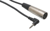 2' Microphone Cable (3.5 mm TRS - XLR3M) -- 80460 - Image