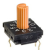10mm DIP Rotary Switches -- FR01-Series - Image