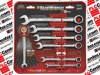APEX TOOLS 9317 ( 7 PC SAE RATCHETING WRENCH SET ) -Image