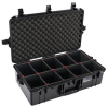 Pelican 1605 Air Case with TrekPak Dividers - Black   SPECIAL PRICE IN CART -- PEL-016050-0050-110 -Image
