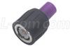 BNC Terminator, Male, Colored Cap, RG59 (75 Ohms) -- BIF7M