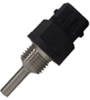 R300 Series immersion temperature probe, RTD, 100 Ohm, 3,0 °C [5.4 °F] tolerance, 20 °C [68 °] accuracy, stainless steel, threaded body (M14x1.25), overmolded connector/AMP JPT/Bos -- R300-F35-M14-C