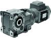 Helical/Bevel Geared Motors -- Series K Helical Bevel geared motors
