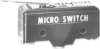 MICRO SWITCH BZ Series Premium Large Basic Switch, Single Pole Double Throw Circuitry, 15 A at 250 Vac, Flexible Leaf Actuator, Screw Termination, Silver Contacts, UL, CSA, ENEC -- BZ-2RL5551-A2 -Image