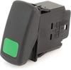 EATON SVR Sealed Rocker Switch, 12A, 12V/24V, On-None-On, SPDT, SAEMLXDGXXXXXXX -- 43204 - Image