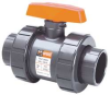 Ball Valve,2 Pc,3/8 In,PVC,Socket -- 4TJC2 - Image