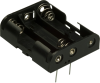 Battery Holders, Clips, Contacts -- BH3AA-PC-ND