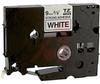 Tape; Adhesive Laminated; 3/8 in.; Black on White -- 70102216