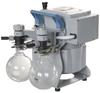 Chemical-Resistant Dry Vacuum Pumping System - 7 mbar -- MZ 2C NT + 2AK