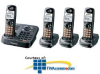 Panasonic DECT 6.0 Expandable Digital Cordless Phone with.. -- KX-TG9344T