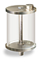 "(Formerly B966-12), Oil Reservoir, 1 pt Acrylic, 1/4"" Male NPT, Pipe Mount -- B966-0162AB1W -- View Larger Image"