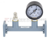 WR-51 Waveguide Pressurizing Section 4.25 Inch Length with Square Cover Flange from 15 GHz to 22 GHz -- FMWSP1004 - Image