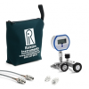 QSCM manifold, 5000 PSIG digital gauge, 20ft, 2ft hoses, (2) 1/4†MNPT process conn., nylon bag -- QSCM-5KPSIG-D