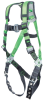 Revolution Construction Harnesses - w/ tongue buckle legs, removable belt, side D-rings & pad > UOM - Each -- R10CN-TB-BDP/UGN -- View Larger Image