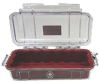 Pelican 1015 Micro Case - Clear with Red Liner -- PEL-1015-008-100 -Image
