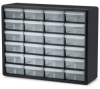 24 Drawer Black Plastic Storage Cabinet 20