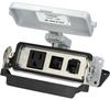 Panel interface connector Mencom DP1-RJ45-R-24LS