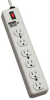 1050-Joule Commercial-Grade Surge Suppressor with Illuminated On/Off Switch, Diagnostic LEDs, and a Heavy-duty Metal Housing with Keyhole Slots -- DG206
