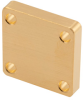 WR-34 Waveguide Short Plate with 4mm Copper and UG-Cover Square Flange -- FMW34SP4 -Image