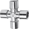 Nickel Plated Brass Pipe Fitting -- 2033 1/4 -- View Larger Image