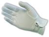 White Stretch Nylon Dress Glove, Snap Closure, Men's -- 616314-53672