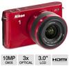 Nikon 1 J1 Digital Camera with 10 - 30mm & 30 - 110mm Lenses -- 27553