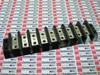 TERMINAL BLOCK 9POLE 10-12 CU/AL 600V 30A NO SCREW -- 0409009