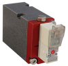 2-Way Poppet Valve, NPT Ported or Mount, In-Line Connector w/LED, 12 VDC -- EGV-2-C012 - Image